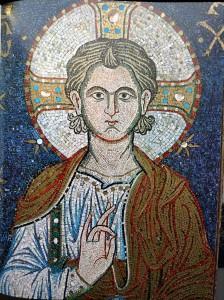 Madonna con il Bambino, San Marco - Venezia, particolare