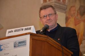 Padre Babiak nella sua testimonianza