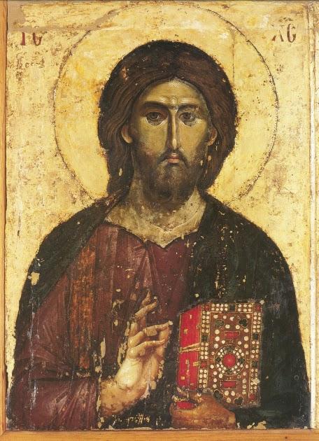 Cristo Pantocrator, immagine di repertorio (i soggetti specifici per il corso saranno assegnati direttamente ai partecipanti)